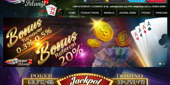 sarana pelangi situs poker online terpercaya